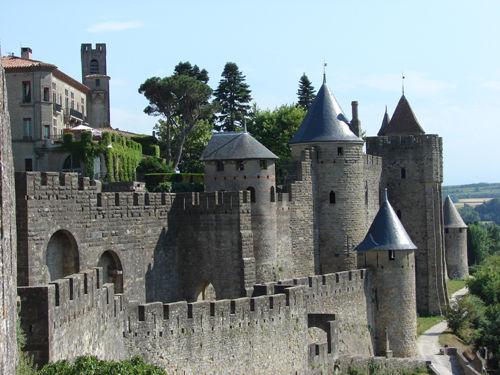 Замки Франции средневековья